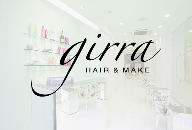 広尾の美容室 ~ girra(ヘアメイク・ジラ)~ HAIR & MAKE